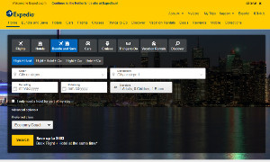 Thumbnail of Expedia Website